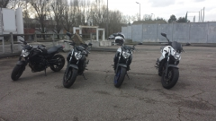 XJ6(s) N Midnight Black mate / Midnight Black / Race Blue / White Competition Front